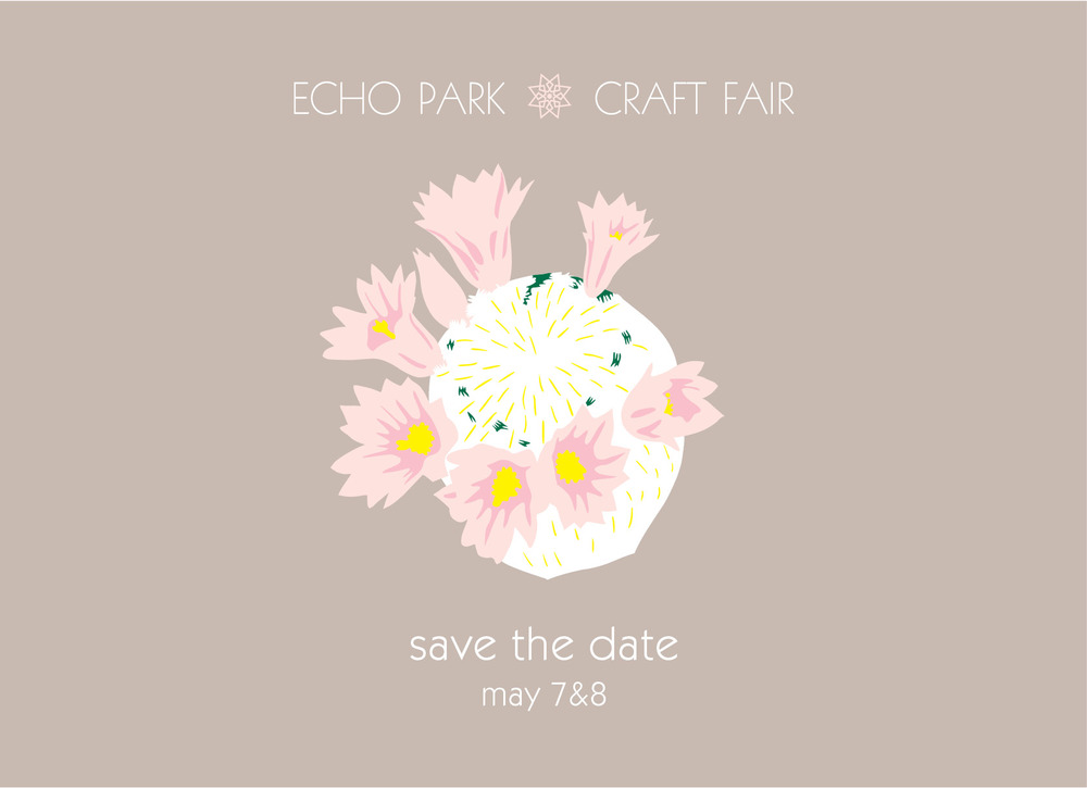 SAVE THE DATE ECHO PARK CRAFT FAIR