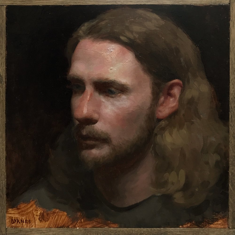 Kit II,  oil on panel
