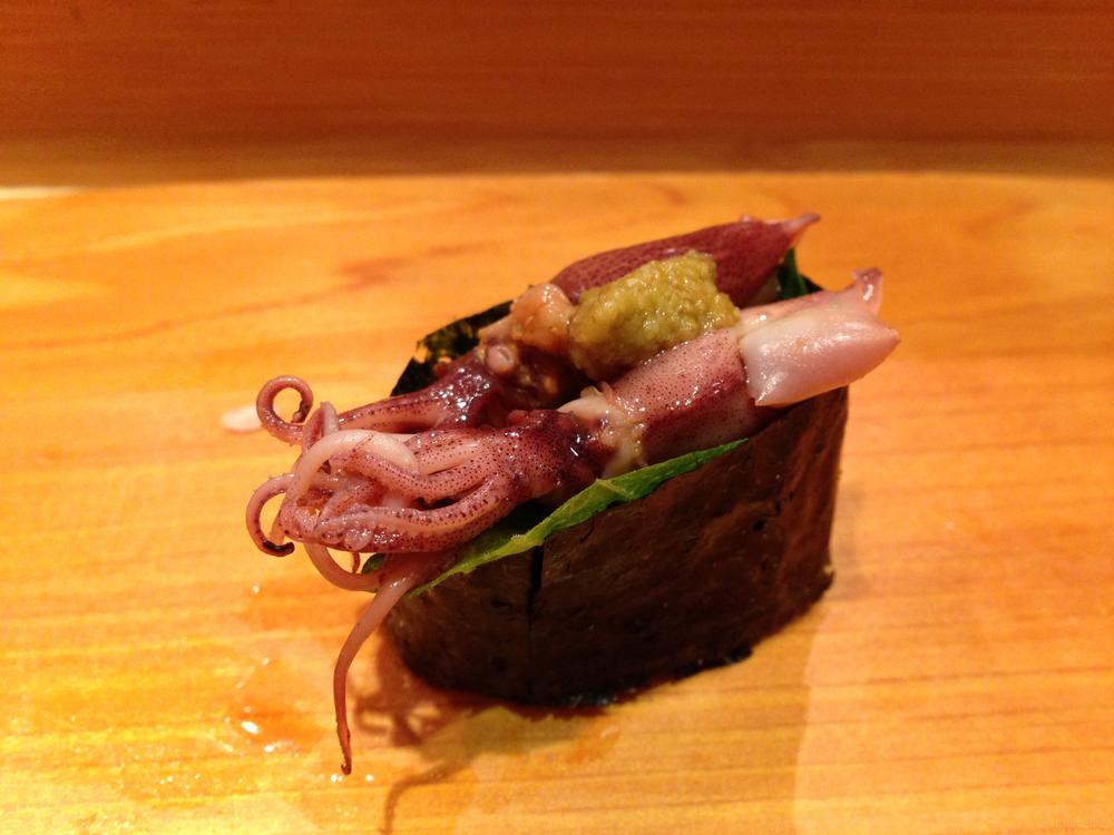 Hokkaido Squid