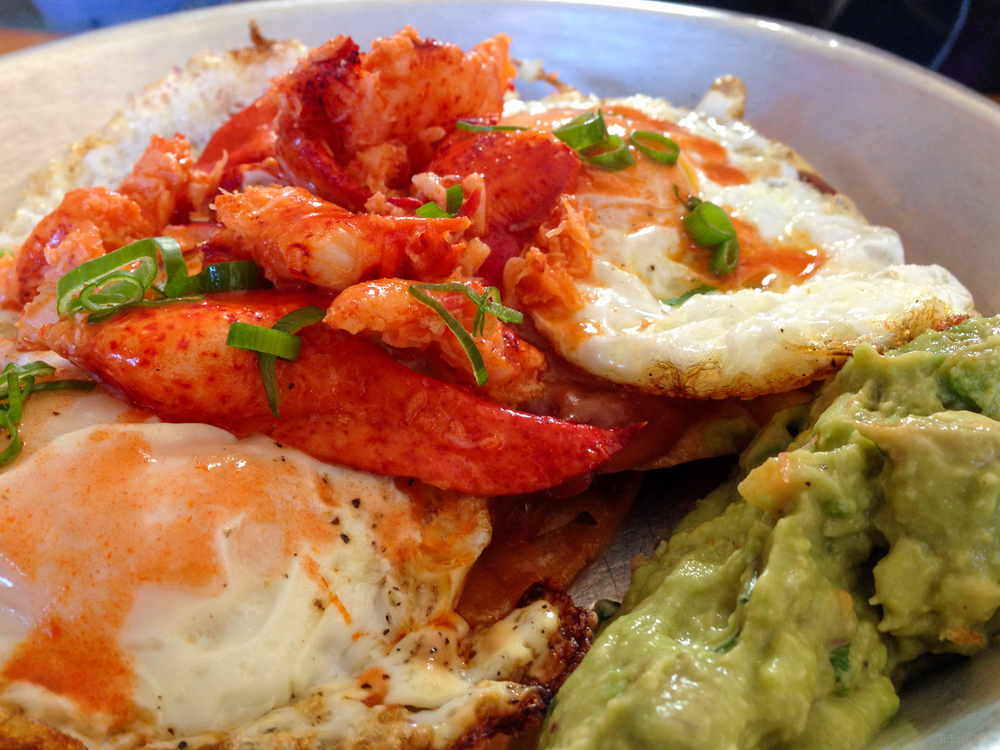 Lobster Huevos Rancheros