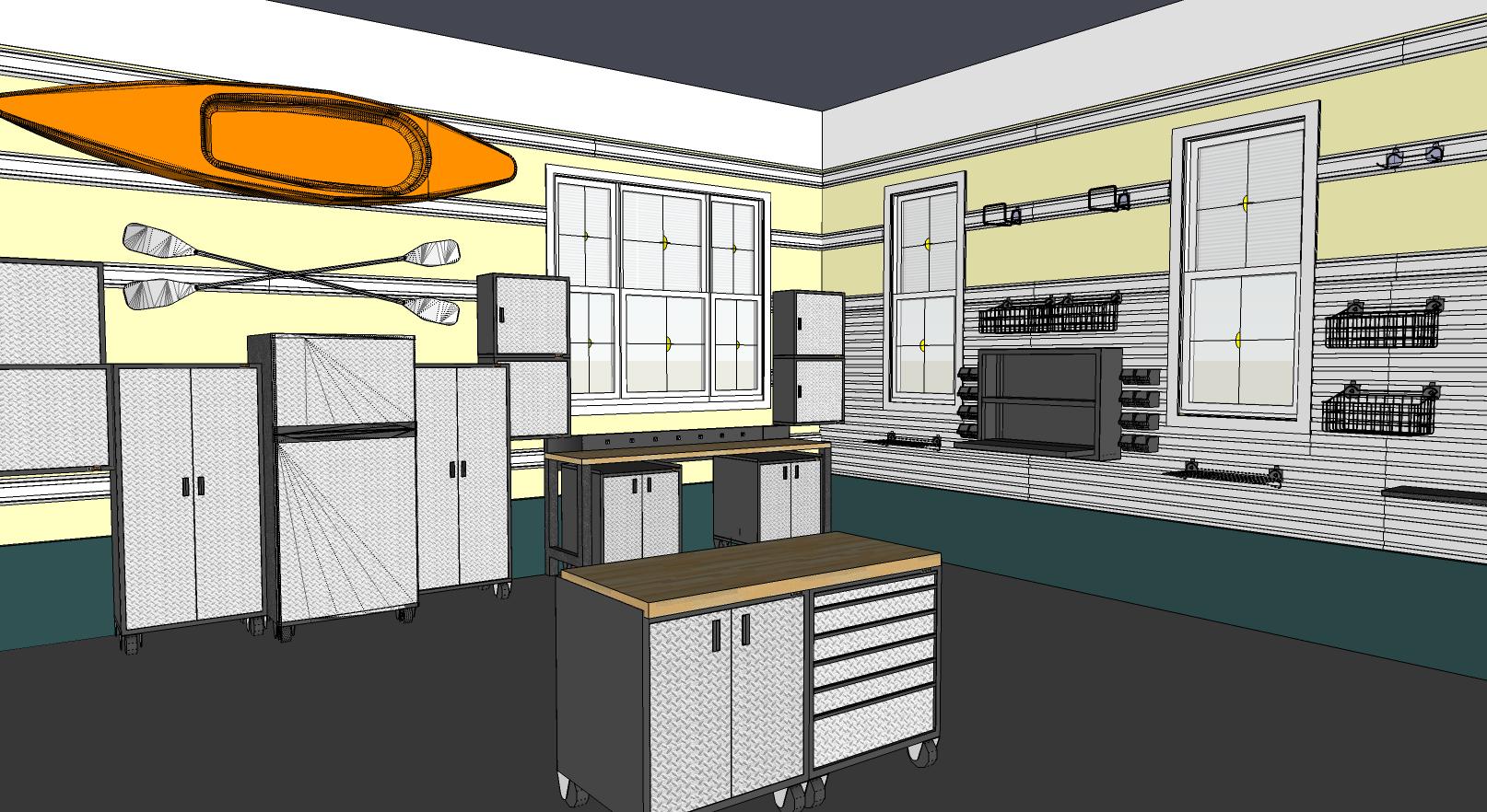 A Rendered Garage Sketchthis Net