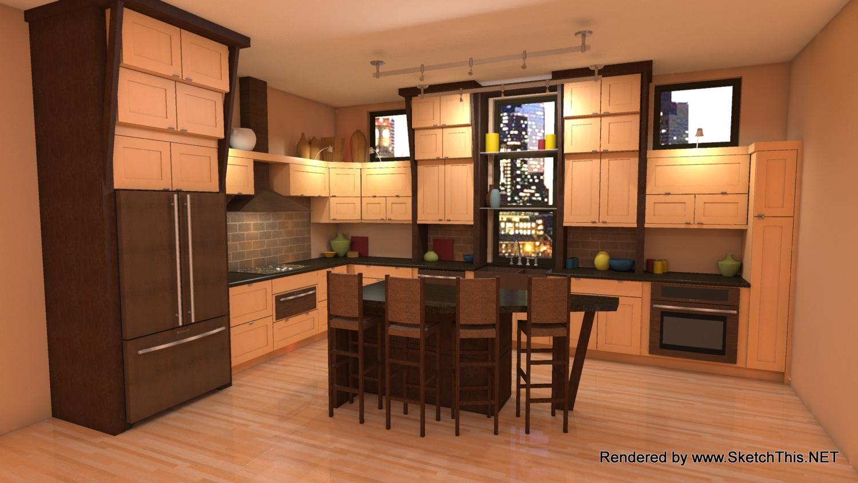 Sketchthis Kitchen Design Plugin