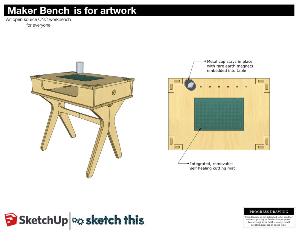 Maker Bench Sketchthis Net