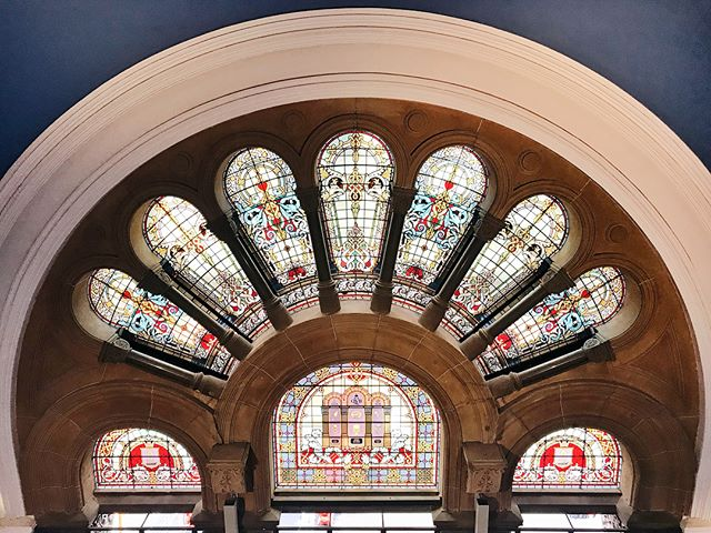 QVB stained glass appreciation