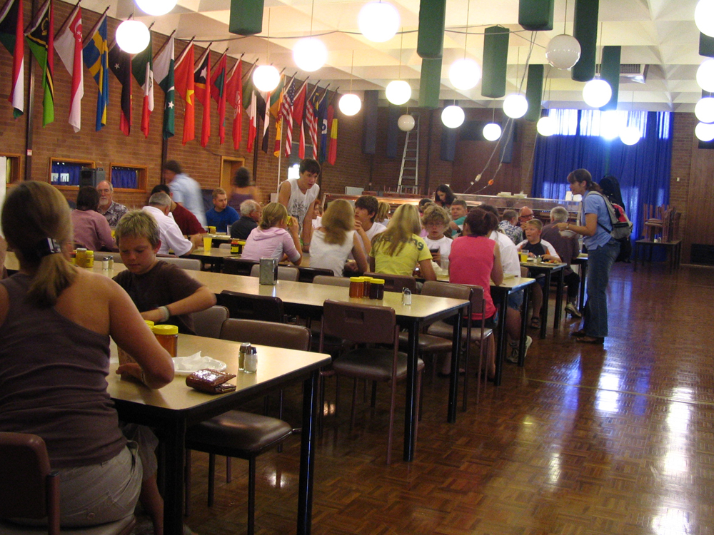 Dining Hall for sit down meals