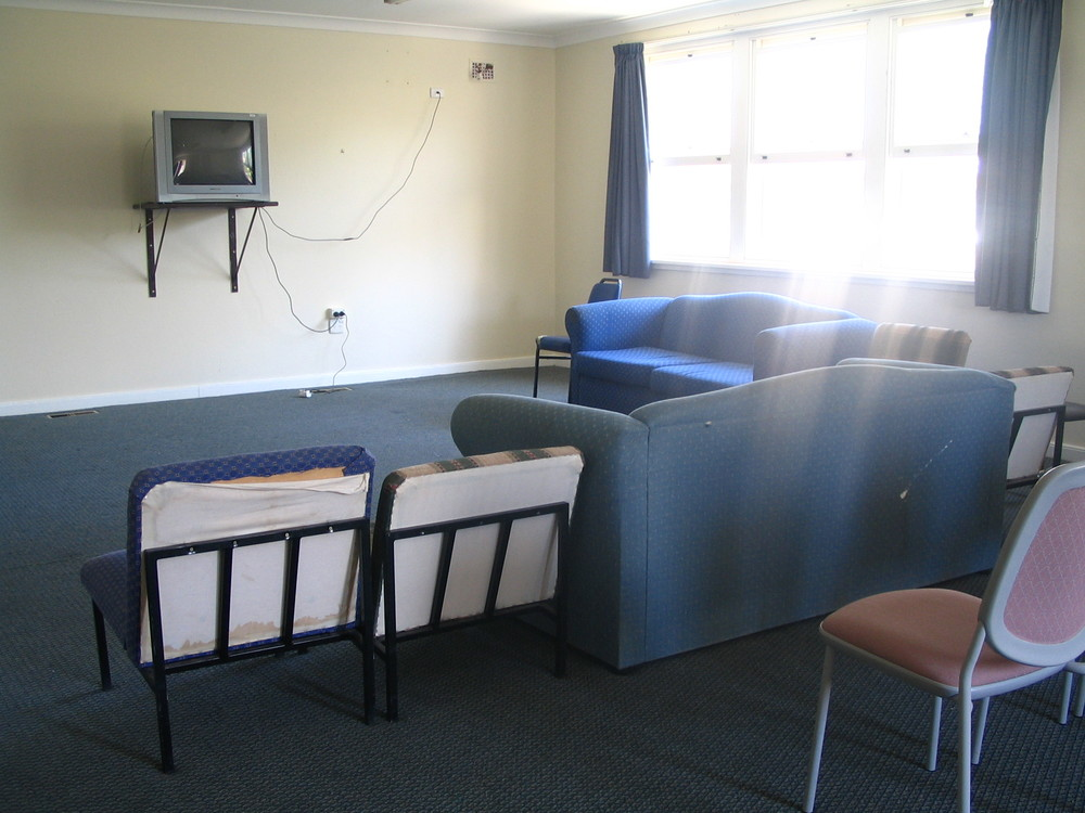 Stewards Hall common room