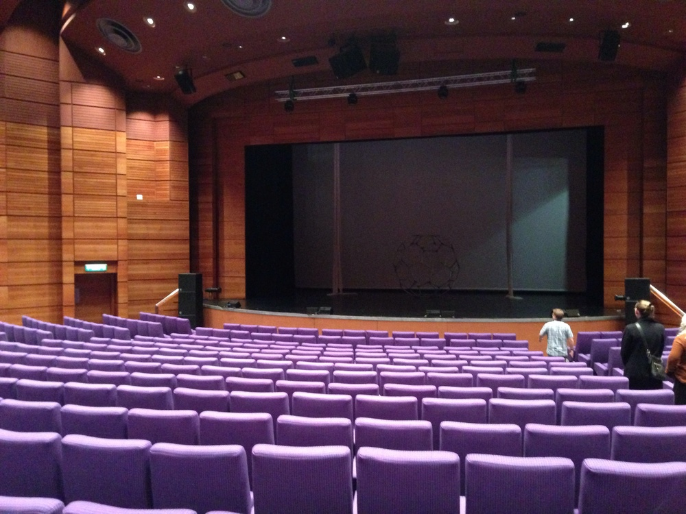 View of the EICC stage.