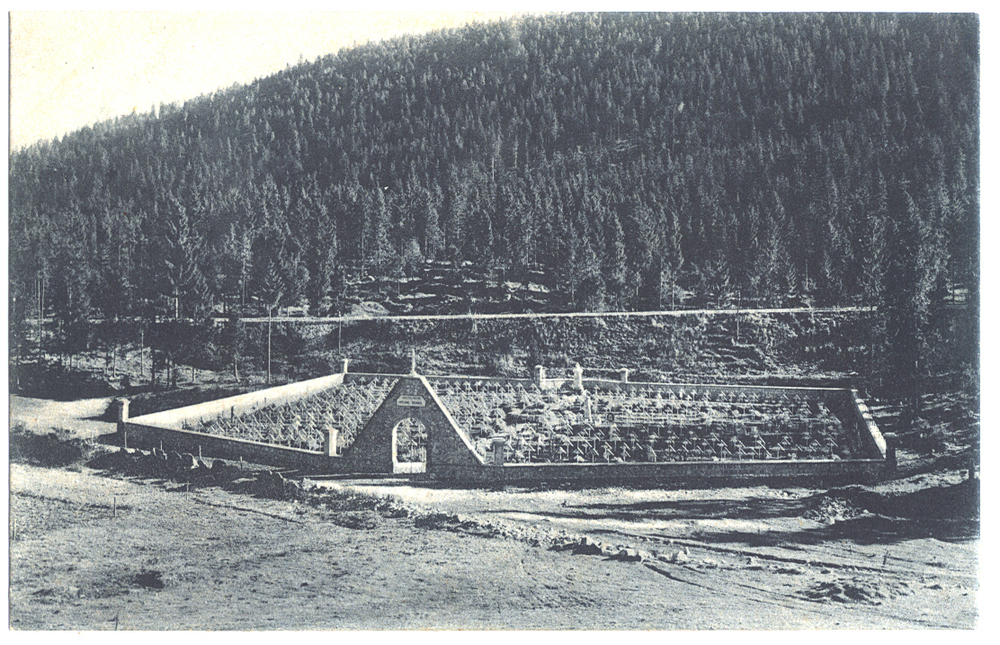 Cimitero militare italo-austriaco di M. Lemerle  Antonio Brandi.JPG