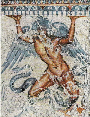 Tumba de Tifón, Tarquinia, siglo I aC.