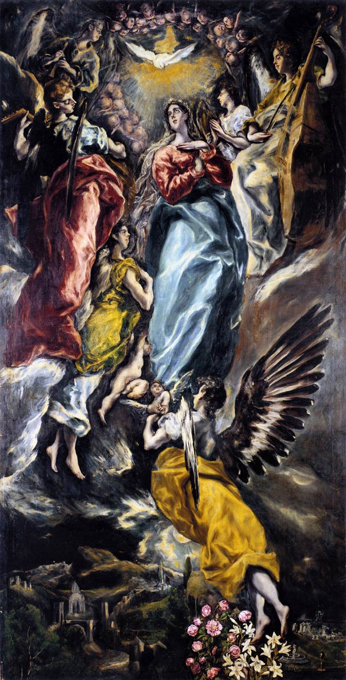 El Greco,  Immaculate Conception , c. 1607-1613.