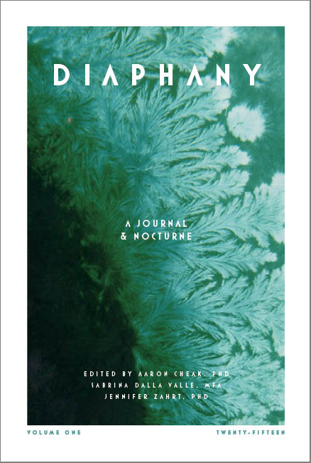 Diaphany: A Journal and Nocturne , edited by Aaron Cheak and Sabrina Dalla Valle, 270 pp., fully illustrated. Rubedo Press, 2015.