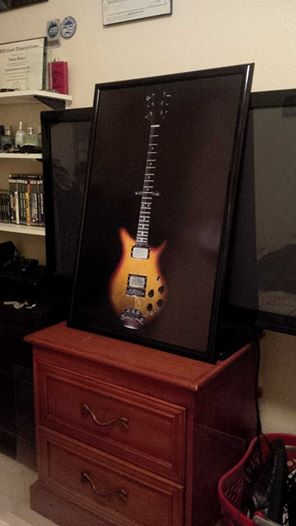 20x30 Print Of The Guitar