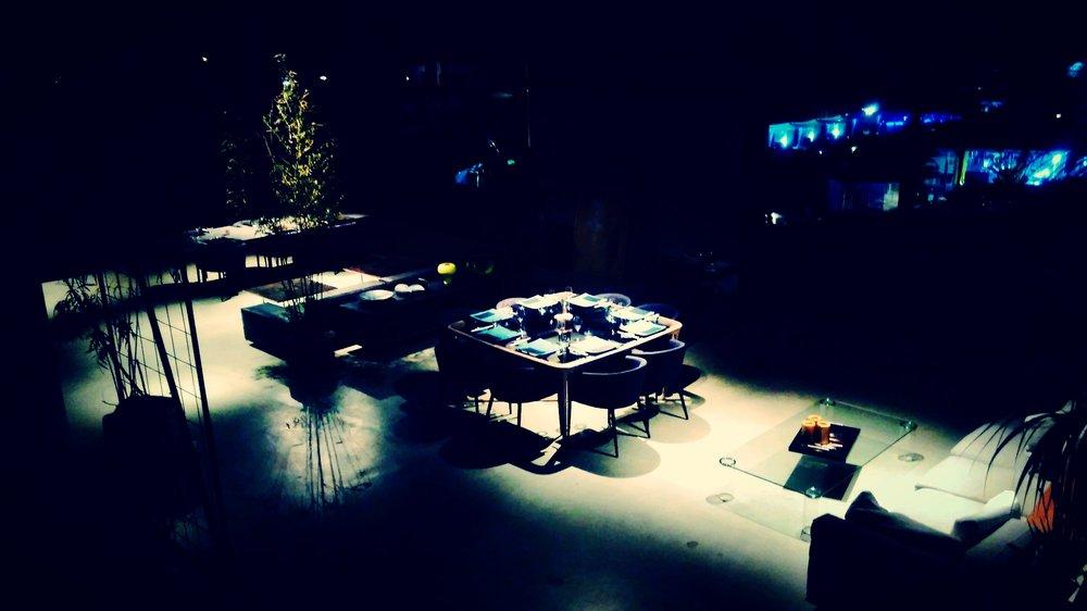 TABLE POSITION - Scegli dove accomodarti per trascorrere la Tua serata