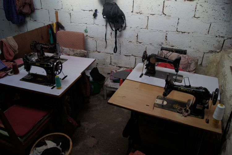The Workshop, The Sewing