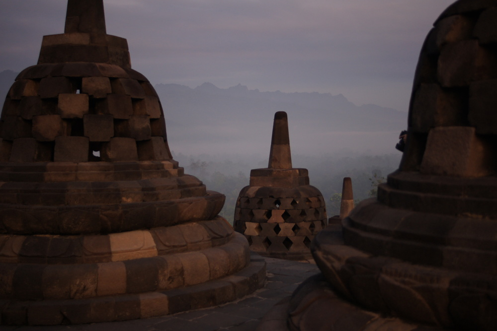 Borobudur Temple, Central Java - Indonesia