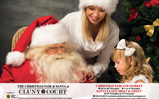 Cluny Court in Bukit Timah  Date: 1 - 3 December 2017 Time: 11 am - 7 pm Venue: Cluny Court, Level 2  #02-13, 2nd Floor Cluny Court,  501 Bukit Timah Road   Singapore 259760