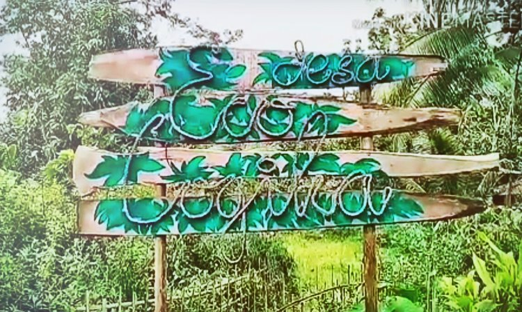 2018 February - Desa Eco Logika - Indonesia