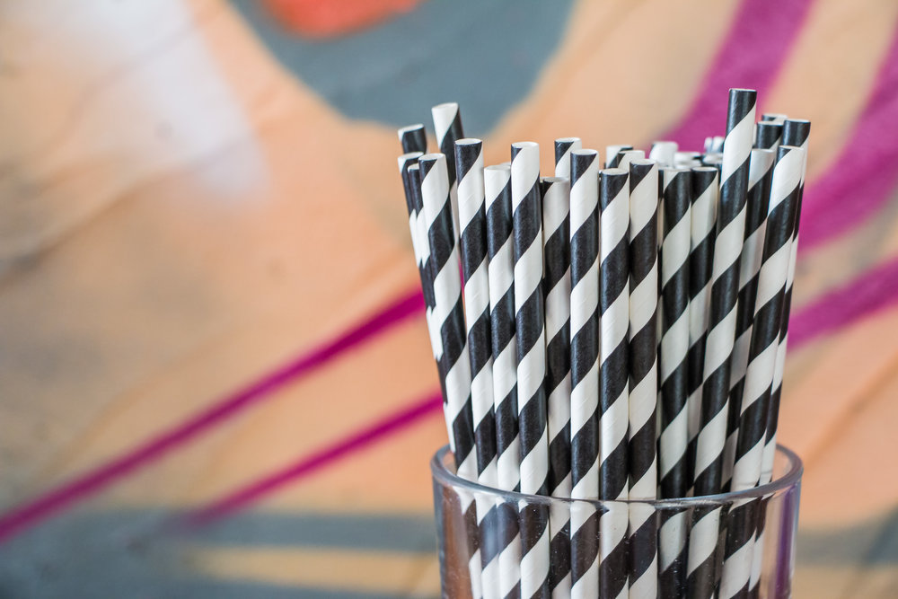Cafe Melba Metropolis - Paper Straws