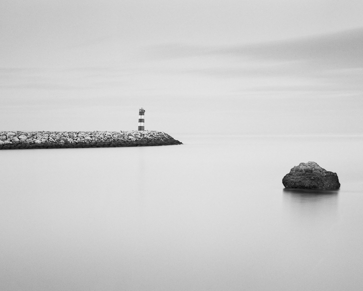 Lighthouse and Rock