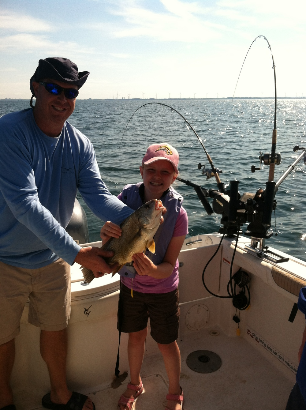 Doesn't matter what we catch...  smiles all around!!