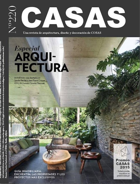 Casas magazine Peru // Magazine - mei 2015