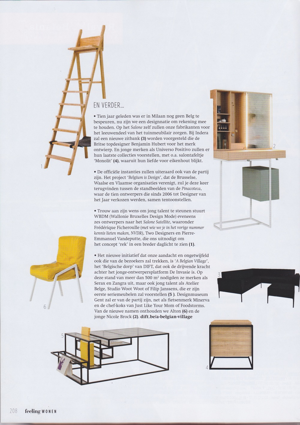 Feeling Wonen (magazine - april 2015)