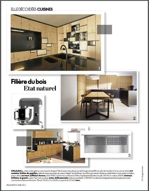 Copy of Elle Deco France /2015