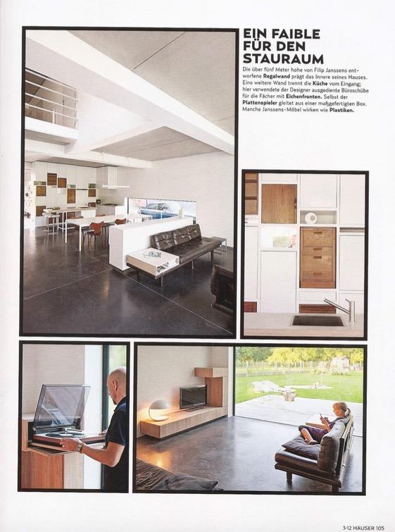 Häuser - Duitsland // Magazine - juni 2012