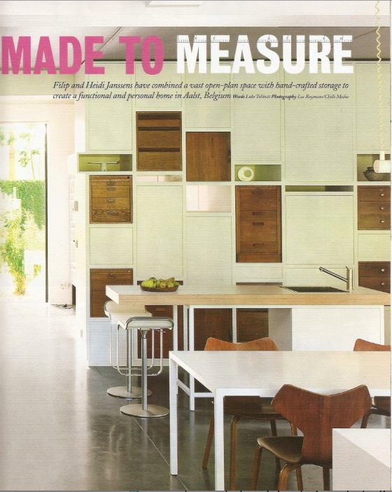 Grand Designs // Magazine - april 2012
