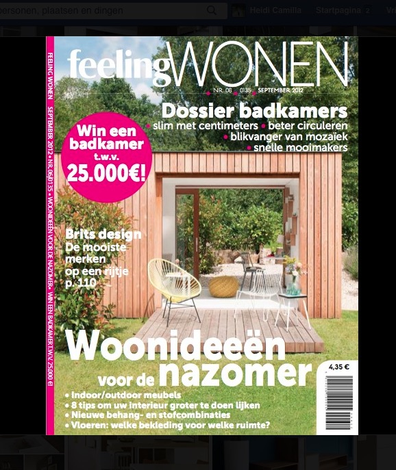 Feeling Wonen / Magazine - september 2012