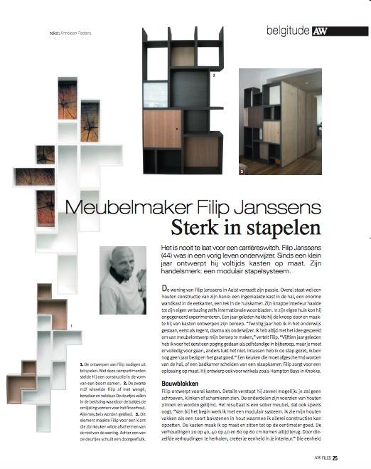 Actief Wonen Magazine - November 2008