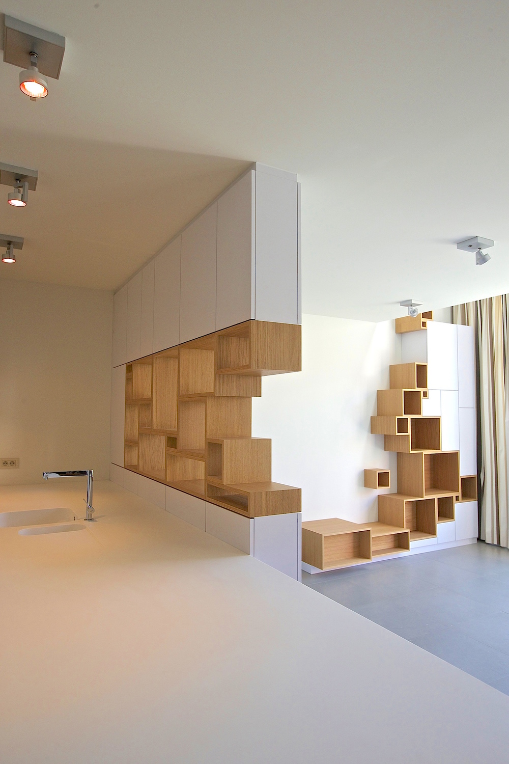 Filip janssens for Meuble bibliotheque design