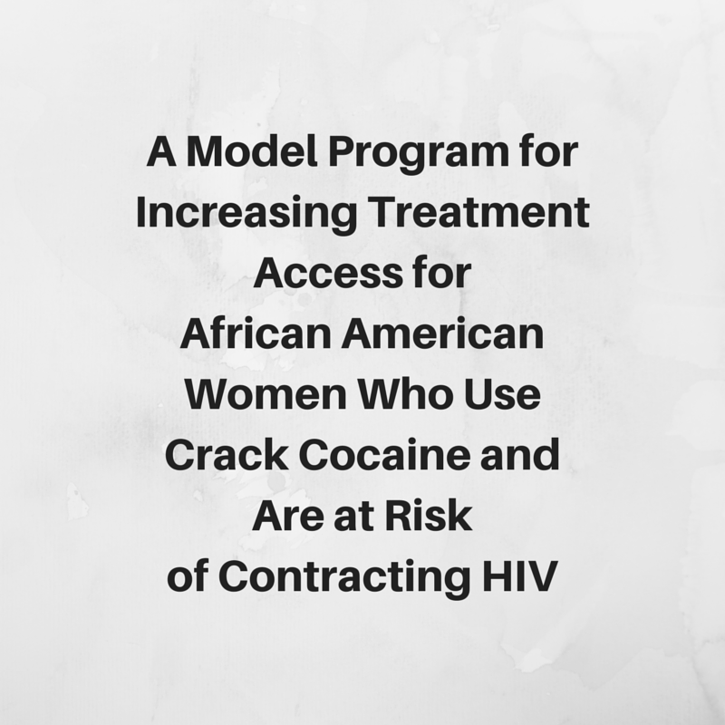 A Model Program for Increasing  Treatment Access for African  American Women Who Use Crack  Cocaine and Are at Risk of  Contracting HIV
