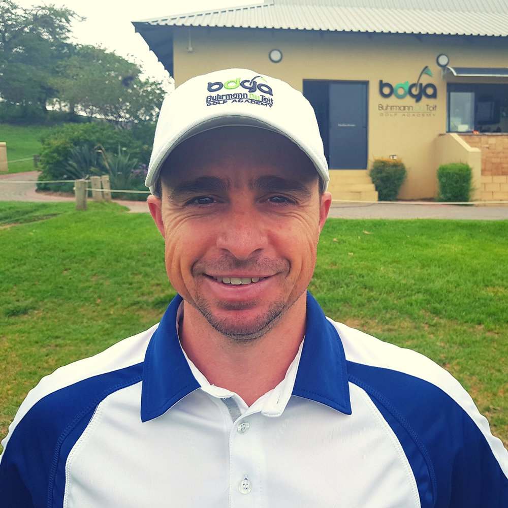 Andre Louw Golf Coach