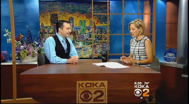 "KDKA-TV (CBS) Topic: ""How Kids Can Explore Future Careers"""