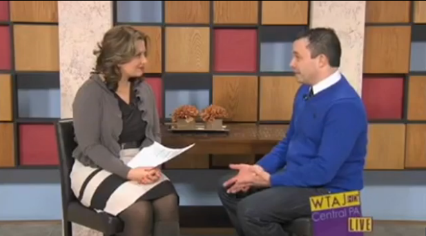 "3/19/14: WTAJ-TV (CBS) Topic: ""Helping Students Manage Spring Activities"""