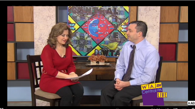 "12/30/14: KTAJ-TV (CBS) Topic: ""Applying for Scholarships"""
