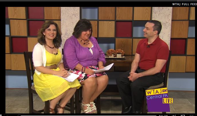 "7/7/15: KTAJ-TV (CBS) Topic: ""Making the Most of Summer Vacation"""