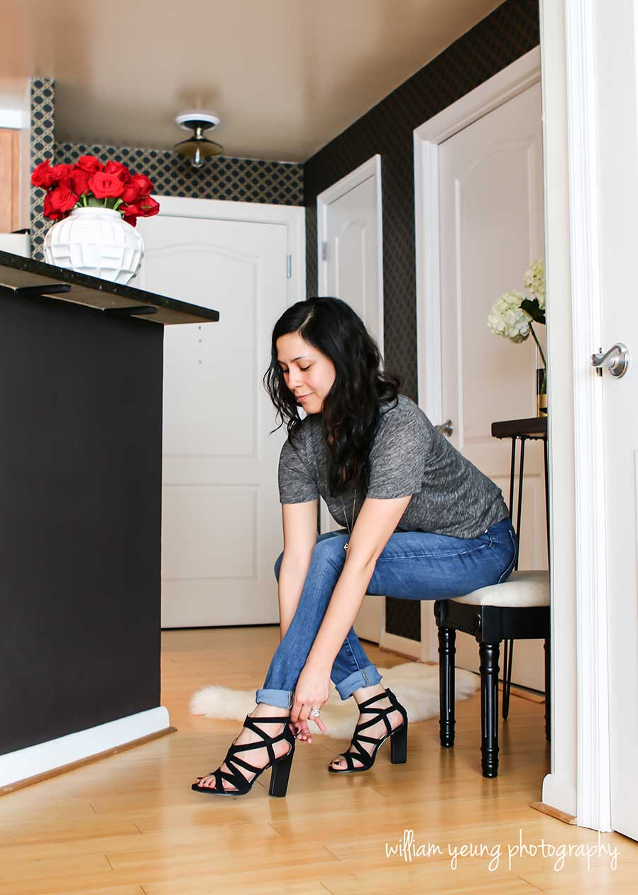 Chic glam foyer   one room challenge — splendor styling