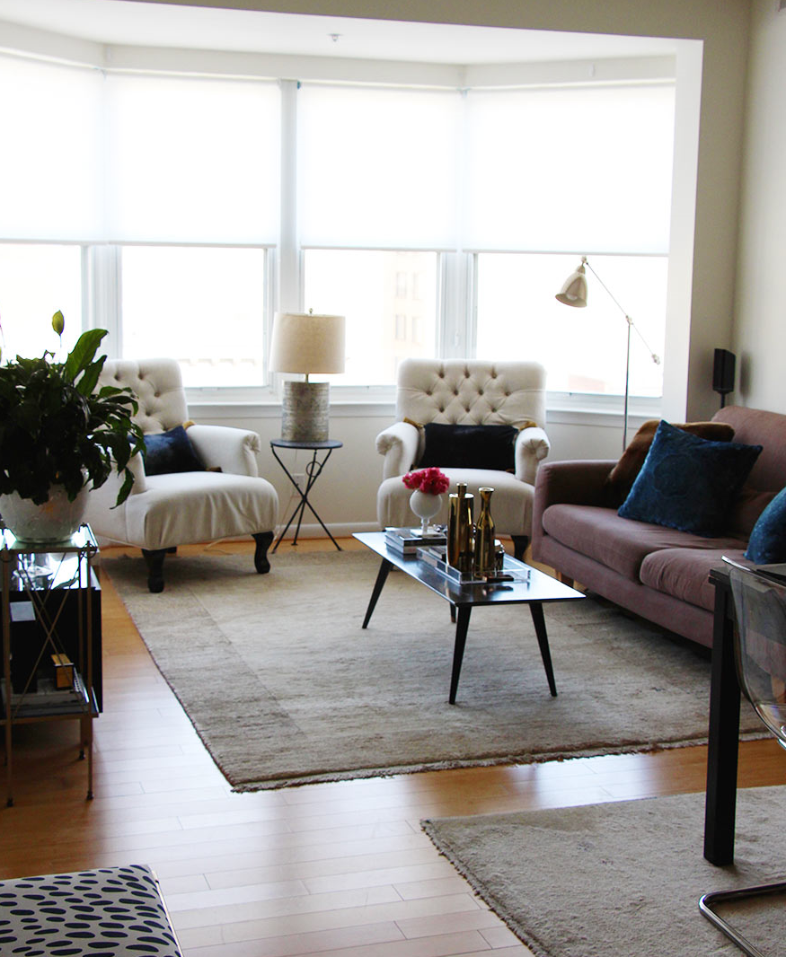 Interior design chic living area splendor styling for Living area interior design
