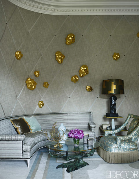All pictures from  Elle Decor