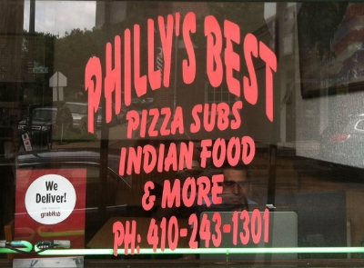 Philly's Best - 1101 W 36th Street Stop here for subs, pizza, and home made indian food, delish! Turn right onto Hickory