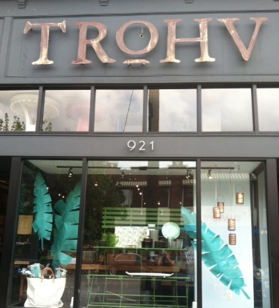 Trohv - 921 W 36th Street Stop here for new and vintage home goods and gifts Turn right