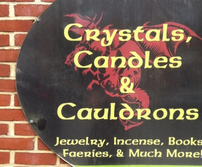 Crystals, Candles & Cauldrons - 927B  w 36th Street Stop here for new age, spiritual supplies, and candles Turn right toward 36th street