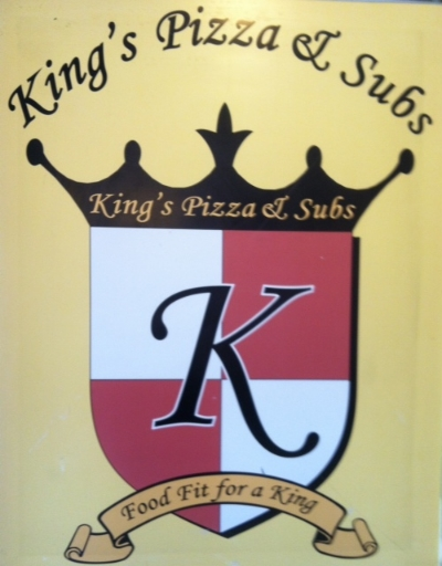 King's  Pizza and Subs -907 W 36th Street Stop here for subs, pizza, mediterranean, and seafood Turn right
