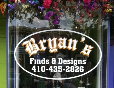 Bryan's Finds & Designs - 845 W 36th Street Stop here for an eclectic selection of gifts and jewelry Turn right