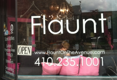 Flaunt Salon - 803 W 36th Street Stop here for a brand new look Turn right
