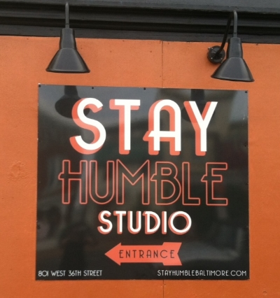 Stay Humble - 801 W 36th Street Stop here for a private tattoo studio and art gallery Turn right