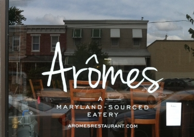 Aromes - 3520 Chestnut Avenue Stop here for a farm to table eatery, delish! Turn right