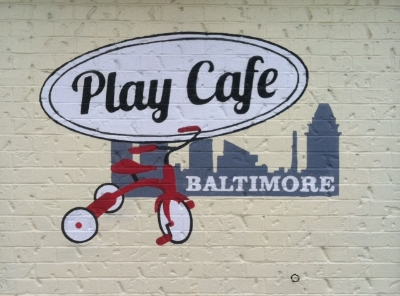 Play Cafe - 3400 Chestnut Avenue Stop here for a cafe shop and play space for children Turn right